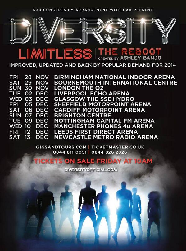 We're excited to announce our new #Limitless - The Reboot UK tour! Tickets on sale 10am Frida… http://t.co/hplMKxBKz0 http://t.co/hoTvp3mumF