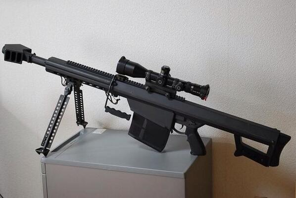 Barrett XM109 Sniper Rifle http://t.co/NlaIo4ib6B