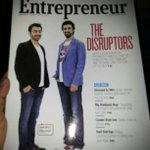 The Disruptors are here :) http://t.co/Thxd2VpKTC