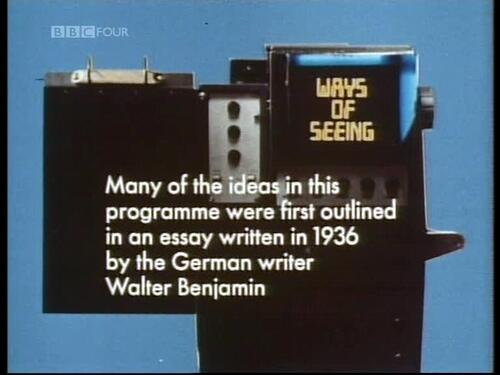 "John Berger, ""Ways of Seeing"" BBC TV series from 1972: http://t.co/CESrakYNdV http://t.co/7JMo5Exftx"