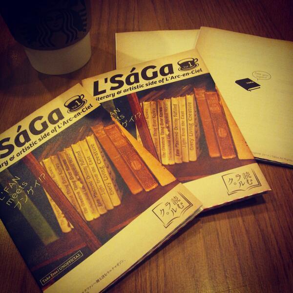 """構想から約1年、有志のラルクファンの方々にご協力いただき、度重なる制作・執筆・編集を経て… 3月21日(金・祝) 国立競技場にて """"読むラルク""""フリーマガジン『L'SáGa』創刊号 を配布いたします。 http://t.co/MeD2bdQsrk"""