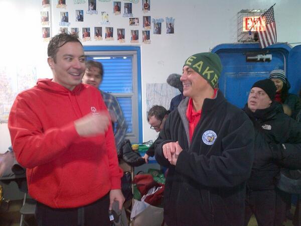 So that wasn't too bad, right @jimmyfallon? #PolarPlunge http://t.co/CbBd4iAXaA