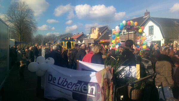 Thies van den Berg (@Thiesseman): @LiberalenBunnik ook vandaag tijdens carnaval aan de bak! #Odijk #durftekiezen http://t.co/FSYgm2nV8U