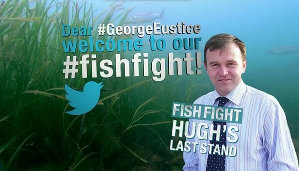 Dear #GeorgeEustice, welcome to our #fishfight! http://t.co/isSRpuBvUz