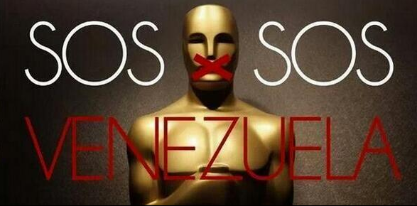 The dictatorship in #Venezuela has censored the #Oscars. #AlfombraRojaE #OscarsForVenezuela #SOSVenezuela #Oscars2014 http://t.co/LQ32W3OXfd