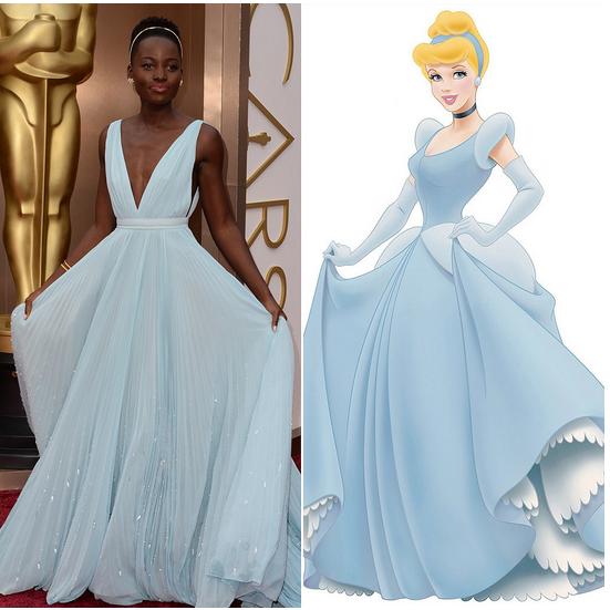 Modern day Cinderella. #Oscars #LupitaNyongo http://t.co/vKe5XQ7WTF