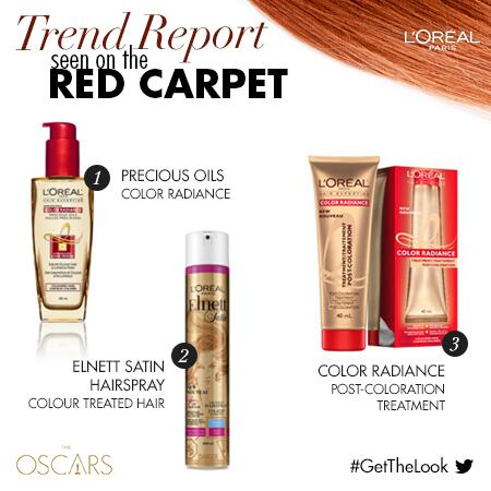 Gorgeous, healthy colour ruled the #Oscars red carpet. RETWEET for the chance to WIN these colour-friendly products! http://t.co/uTfBwmEjRs
