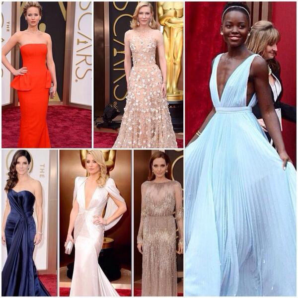 Looks favoritos #Oscars2014 #AcademyAwards http://t.co/oPbObNN3Ok