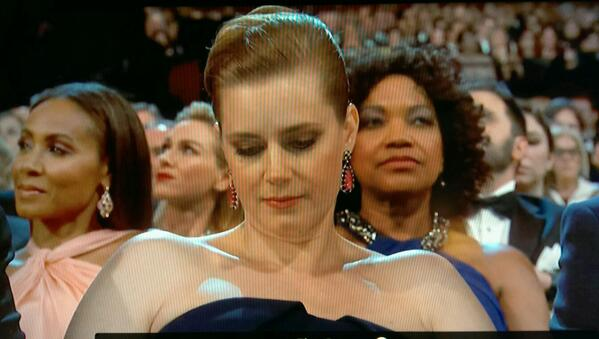 Amy Adams is all of us. http://t.co/laj0b8llrO