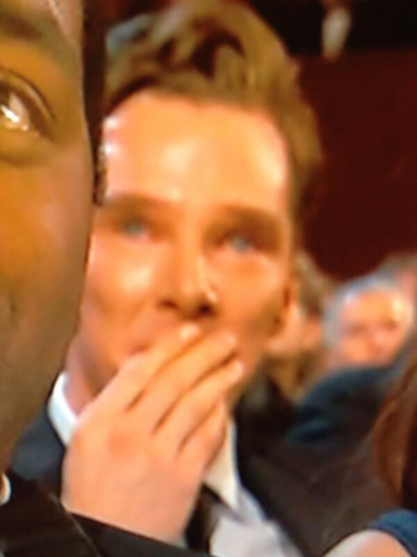 YASSS!!! RT @ditzkoff: CRY CUMBERBATCH CRY http://t.co/w1jehiyXML