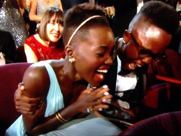 Best Moment! Goosebumps for @Lupita_Nyongo