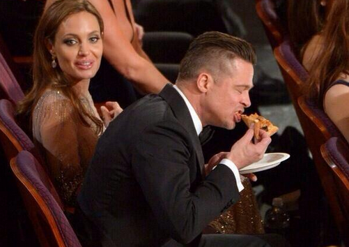 Second best picture from tonight. #Oscars2014 http://t.co/o33rQTd4do