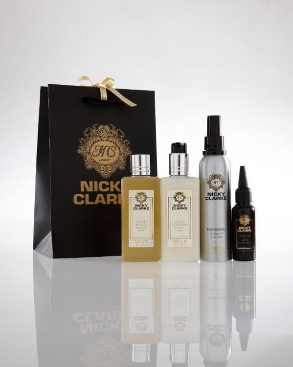 MONDAY GIVEAWAY! FOLLOW & RT for a chance to win this selection of @NickyClarkeUK luxury products! http://t.co/syo9d5lw4W