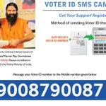 SMS your Voter ID No to the Mobile No below #OnlyNaMO Register your support for Bharat http://t.co/RhHEjwTBiC http://t.co/5C35QNfglw