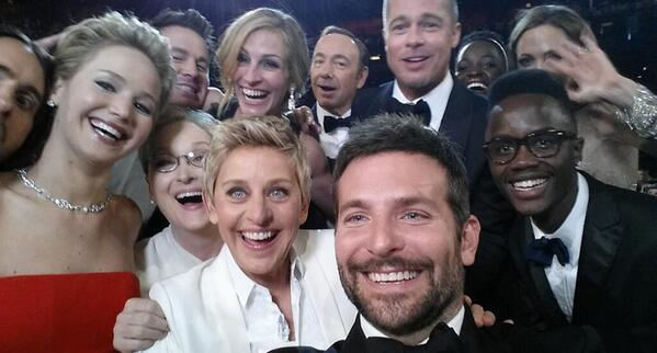 It's official: Ellen DeGeneres' celeb selfie is now the most retweeted tweet ever http://t.co/Ove4ofcc2u http://t.co/G2KJWCGi73