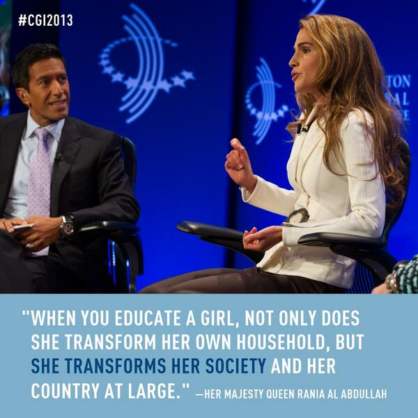 What happens when you educate a girl? #NoCeilings #WHM http://t.co/8y2jxpPdy5