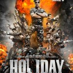 RT @filmfare: First poster of @akshaykumar starrer #Holiday. The film releases on 6th June ::