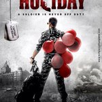 RT @taran_adarsh: Here's the teaser poster of #Holiday - A Soldier Is Never Off Duty