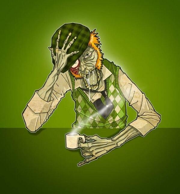 Happy St. Patrick's Day, Zombies!! http://t.co/vJDqPseepl