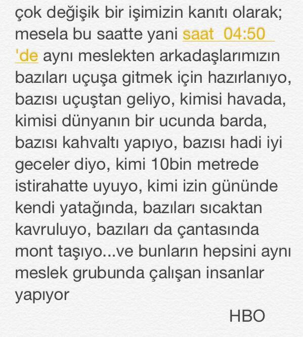 HostesBeyOğlum (@HostesBeyOglum): havacılık değişik bi meslek...✈️ http://t.co/HkH8EoDzMr