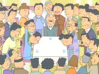 サザエさんとマスオさんはお見合い結婚!磯野家が福岡に住んでいた時に、福岡の百貨店・岩田屋の地下食堂にてお見合いをしたが、