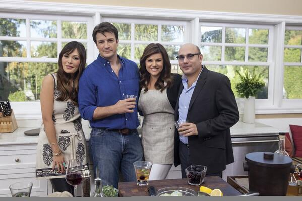 #DinneratTiffani's Sun, Mar 23rd at 8pm ET/5pm PT on @CookingChannel w/ @NathanFillion @WillieGarson #lindsayprice http://t.co/SCxvU6oWJE