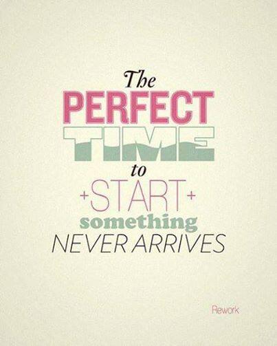 Lieve #ondernemer, de perfecte tijd om met iets te starten komt nooit.. Start nu ツ http://t.co/IttSm5Oh2H