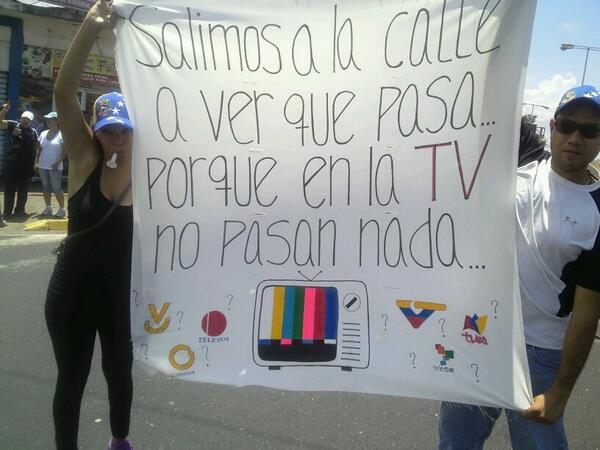 Pancarta en manifestación de Guayana #16M 1:05pm http://t.co/v6vyb9ydB9 vía @saraianais