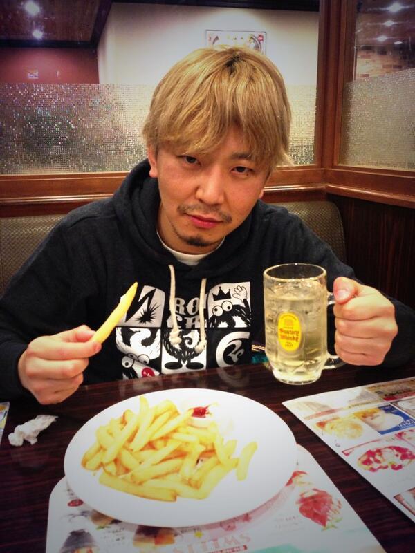 【速報】 SABOTENキヨシさんが!! 今、この時のハイボールとポテトを最後に7キロダイエットを決意しました!!  のどかも!共に!  やりますぜー!!! http://t.co/IJMHNJxw1x