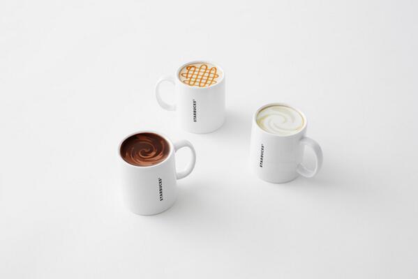 스타벅스재팬이 커피가 가득차 있는 것처럼 보이는 색다른 디자인의 머그컵을 출시했는데 멋짐.아메리카노,라떼,카라멜마키아또로 3가지 디자인.3월 19일부터 매장에서 판매.http://t.co/KCTKfF9CpQ http://t.co/NYWeoGndgJ