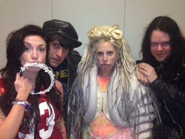 Just some Lower East Side kids looking for trouble! @ladygaga @TaraSavelo @tommylondon @mrmartye #NYCInvadesSXSW http://t.co/DqzNUC89Nq
