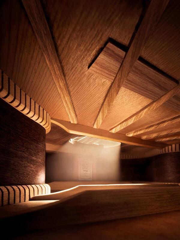 Inside a guitar! http://t.co/YRWTNc03Iy