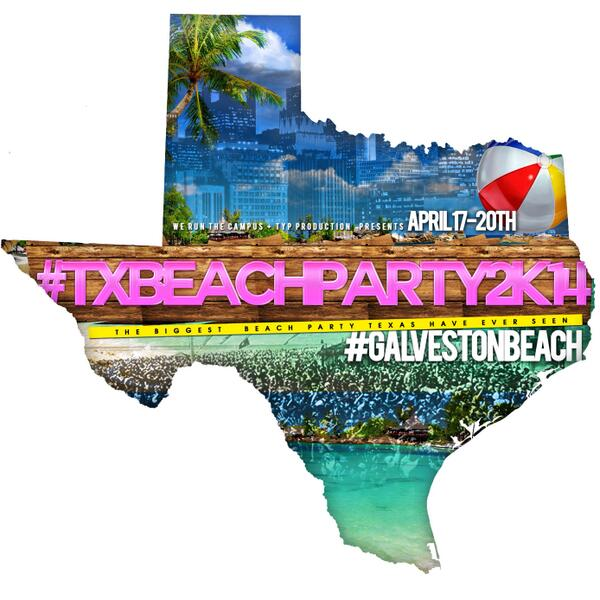 @iMustPandaLean #texasbeachparty2k14 EASTER WEEKEND FRI.-SUN On Sale Now $10 LOG http://t.co/dWesgloTHK 713-235-0156 http://t.co/UOSdMQ2OsO
