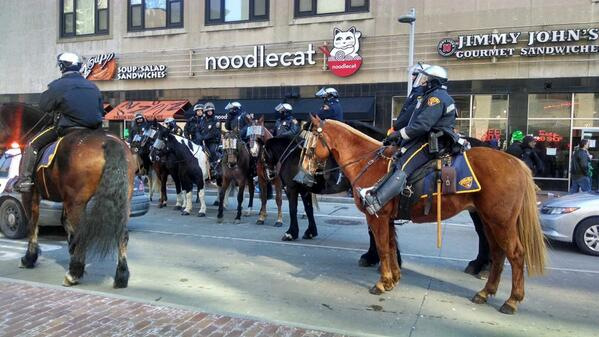 A big thanks to Cleveland's finest for keeping us safe on this St. Patrick's Day. #noodlecat #cleveland @CLEpolice http://t.co/cVwrnI9Ch6