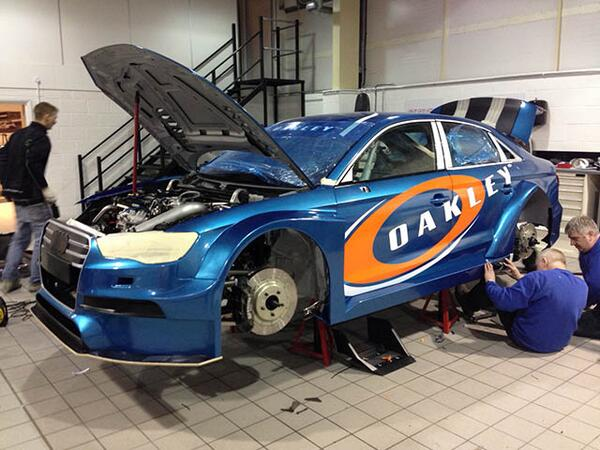 *Spoiler alert* - the nearly ready Rotek Audi S3 saloon #BTCC via @RacecarEngineer http://t.co/1Ng7ayJBxF http://t.co/r0DwN1dkfK