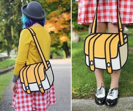 This is a real bag made by Jumpfrompaper http://t.co/OhbSouayTA