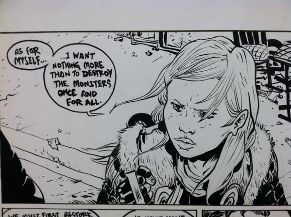Aurora West is out for blood. A sneak panel from BB2 for you... #BattlingBoy2 #RiseOfAuroraWest http://t.co/juwpg7QeIU