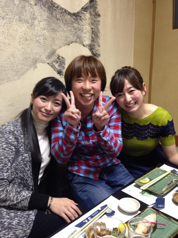 """モヤモヤガールズ?""""@matsu581021: まさかの写真を撮らせていただきました!!興奮!!! http://t.co/hEM0MXTl1U"""""""