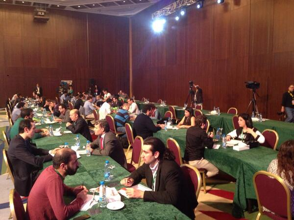 First ever Speed Networking at #ArabNetME Beirut! Big success, look out for it in future events! http://t.co/yc4EnDiGjA