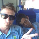 Bouch, kallis and now biff gone! Officially the old man in the team looking after the new kids! http://t.co/6T4k37Ecul