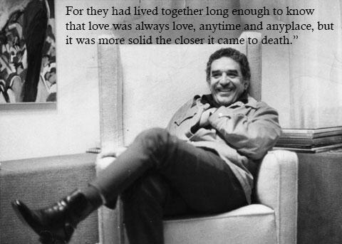 İyi ki doğdun Gabriel Garcia Marquez! Bu vesileyle yazarın özlü sözlerine göz atalım. http://t.co/5VLn3eJOQS http://t.co/gpWr8tRwG5