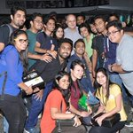 RT @boIIywood: Pic: @AnupamPkher with students at @Whistling_Woods International, Mumbai http://t.co/4vMnP51Q0m: Pic: @Anupam...