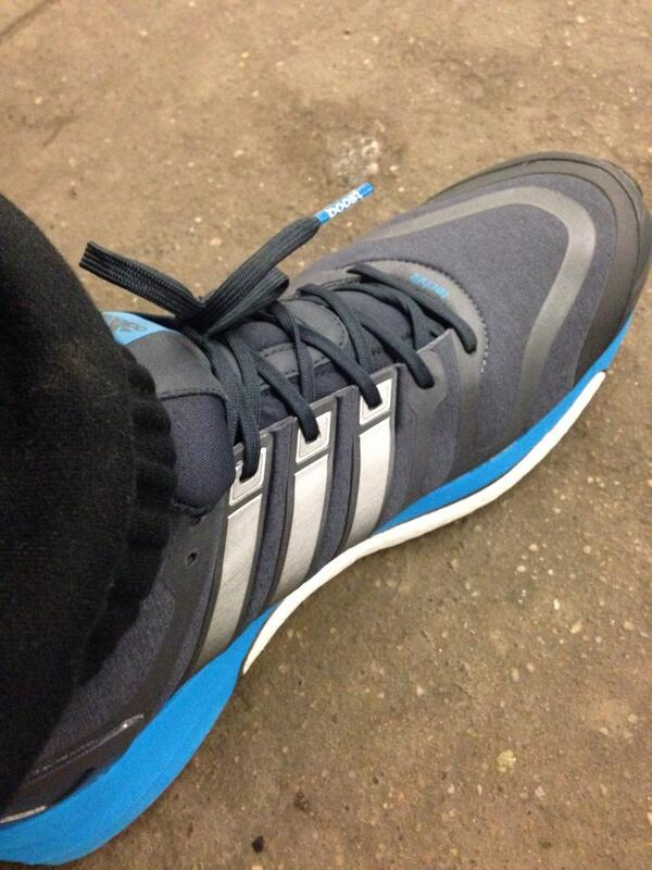 Thanks @adidas for the new workout shoes. :) http://t.co/ut9U5FqMVU