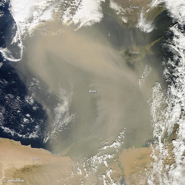Dust Storm over the Mediterranean Sea http://t.co/rTaTkJvfp7 http://t.co/VS6NsJ6xuQ