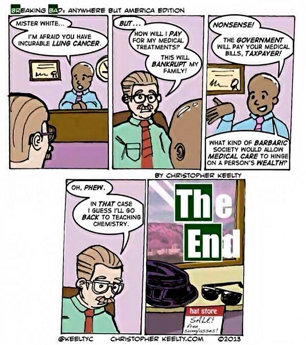 Why Breaking Bad wasn't set in Europe: http://t.co/HGyQCmGbjO