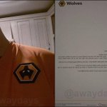 This Wolves fan buys a shirt only to find out the badge is upside down. The clubs response is class. http://t.co/bmQhV9wasv