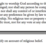 aclu doug boney urges reading of section 7 of kansas bill of rights. here it is #ksleg http://t.co/w0lSmUQ6Jl