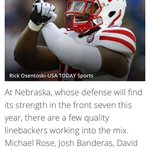 RT @theroguepoage: @Rose_IveyNB15 @DSantos41 @NathanGerry @bandothemando got some love from bleacher report! #Blackshirts #GBR #Huskers http://t.co/dcGcWXc0aZ