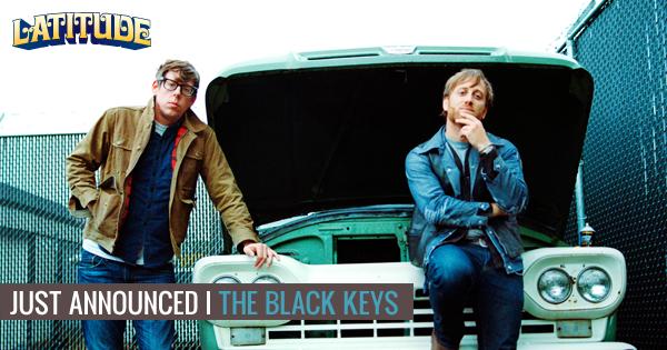 The third headliner for Latitude is @theblackkeys! #Latitude http://t.co/gdNcwkZgwN