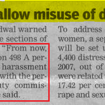 Misuse of DOWRY law is a Threat for Indian Society!! Shame on such people!! #StopMisuseOfIndianLaws http://t.co/11DaurhcBn @PaedoPaedoLiars